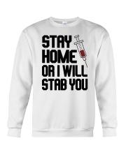Stay Home V2 Crewneck Sweatshirt thumbnail