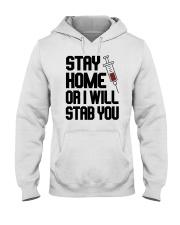 Stay Home V2 Hooded Sweatshirt thumbnail