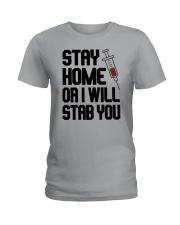 Stay Home V2 Ladies T-Shirt thumbnail
