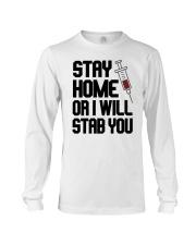 Stay Home V2 Long Sleeve Tee thumbnail