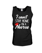 I Can't Stay Home I'm a Nurse Unisex Tank thumbnail