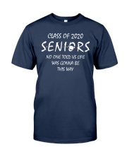 Seniors Class of 2020 Classic T-Shirt front