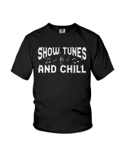 Show Tunes and Chill Youth T-Shirt thumbnail