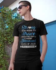 Class of 2020 Strong Brave Determined Classic T-Shirt apparel-classic-tshirt-lifestyle-17
