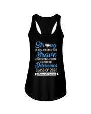 Class of 2020 Strong Brave Determined Ladies Flowy Tank thumbnail