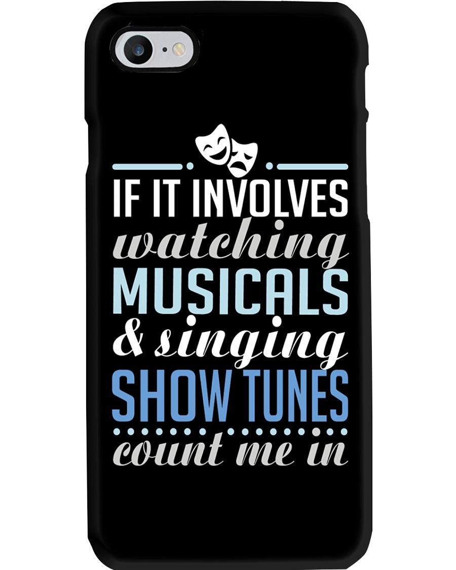 Singing Show Tunes Phone Case