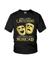 I Was Thinking About Musicals Youth T-Shirt tile