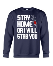 Stay Home Crewneck Sweatshirt thumbnail