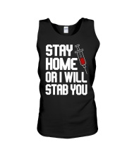 Stay Home Unisex Tank thumbnail