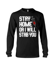 Stay Home Long Sleeve Tee thumbnail