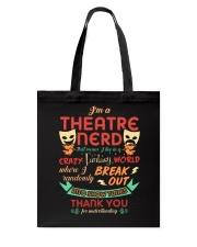 Theatre Nerd Tote Bag thumbnail
