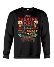 Theatre Nerd Crewneck Sweatshirt thumbnail