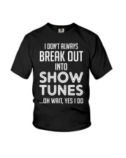 Break Out Into Show Tunes Youth T-Shirt thumbnail