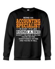 GIFT ACCOUNTING SPECIALIST Crewneck Sweatshirt thumbnail