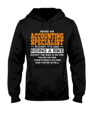 GIFT ACCOUNTING SPECIALIST Hooded Sweatshirt thumbnail