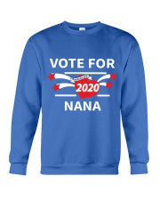 Vote For Nana Crewneck Sweatshirt front