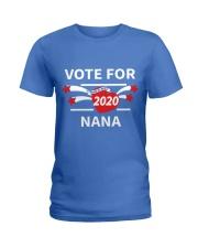 Vote For Nana Ladies T-Shirt thumbnail