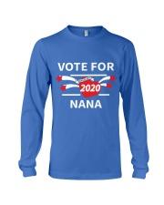 Vote For Nana Long Sleeve Tee thumbnail