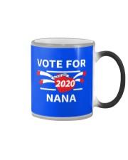 Vote For Nana Color Changing Mug thumbnail