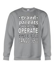 Easy To Operate Crewneck Sweatshirt front