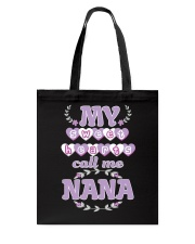 Nana Valentine Sweethearts Tote Bag tile