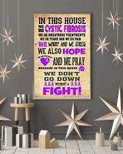Cystic Fibrosis Fight 24x36 Poster lifestyle-holiday-poster-1