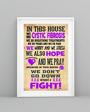 Cystic Fibrosis Fight 24x36 Poster lifestyle-poster-5