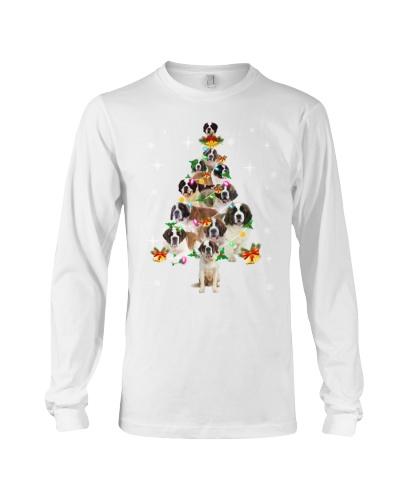 Saint Bernard Christmas Tree