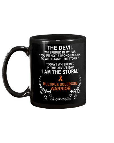 MS Warrior I Am The Storm
