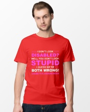 Diabetes Look Stupid Classic T-Shirt lifestyle-mens-crewneck-front-15