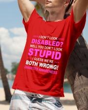 Diabetes Look Stupid Classic T-Shirt lifestyle-mens-crewneck-front-9