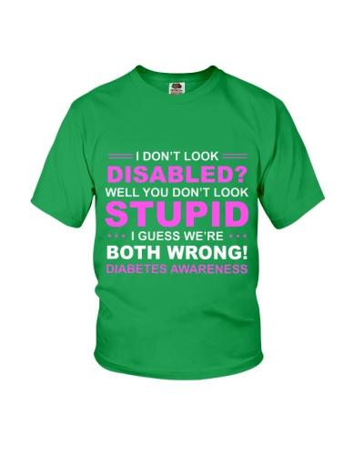 Diabetes Look Stupid