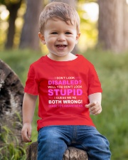 Diabetes Look Stupid Youth T-Shirt lifestyle-youth-tshirt-front-4