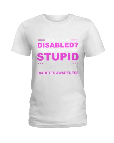 Diabetes Look Stupid