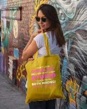 Diabetes Look Stupid Tote Bag lifestyle-totebag-front-1