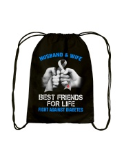 Diabetes Look Stupid Drawstring Bag tile