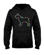 Christmas Lights Xmas Dog Miniature Schnauzer Hooded Sweatshirt thumbnail