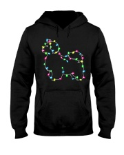 Christmas Lights Xmas Dog Maltese Hooded Sweatshirt thumbnail