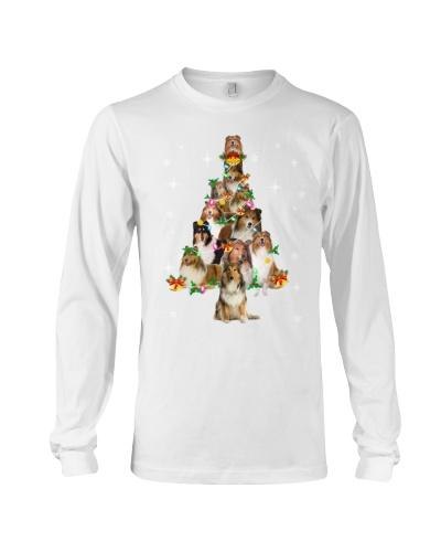 Collie Christmas Tree