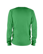 Christmas Lights Xmas Dog Saint Bernard Long Sleeve Tee back