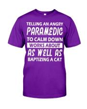 Paramedic To calm down Classic T-Shirt tile