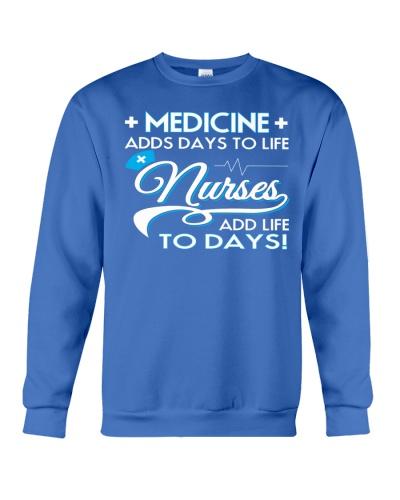 Nurses Add Life To Days