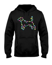 Christmas Lights Xmas Dog Beagle Hooded Sweatshirt thumbnail