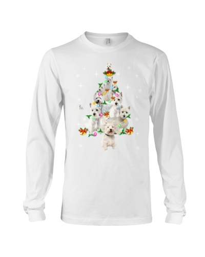 West Highland White Terrier Christmas Tree
