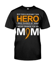 I Wear Orange For My Mom Classic T-Shirt front