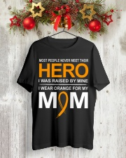 I Wear Orange For My Mom Classic T-Shirt lifestyle-holiday-crewneck-front-2