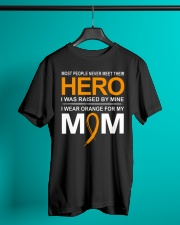 I Wear Orange For My Mom Classic T-Shirt lifestyle-mens-crewneck-front-3