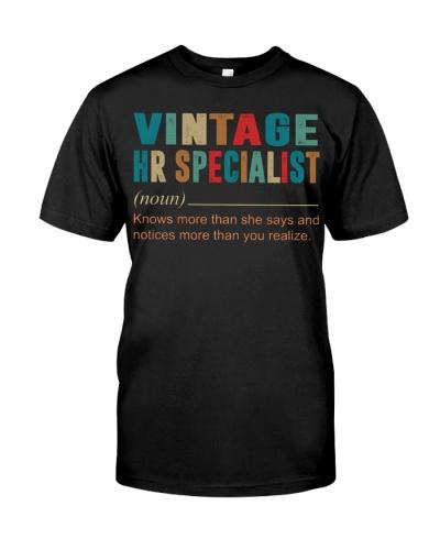 Vintage HR Specialist