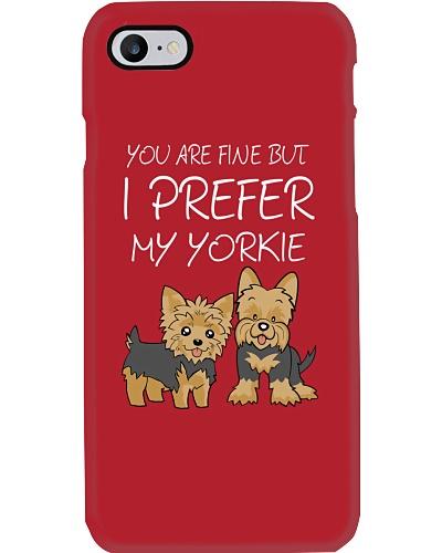 I Prefer My Yorkie