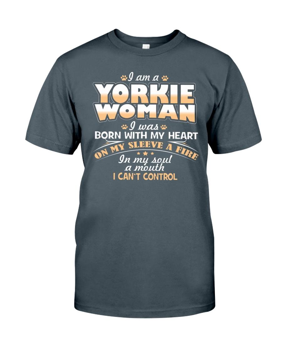 I Am A Yorkie Woman Classic T-Shirt